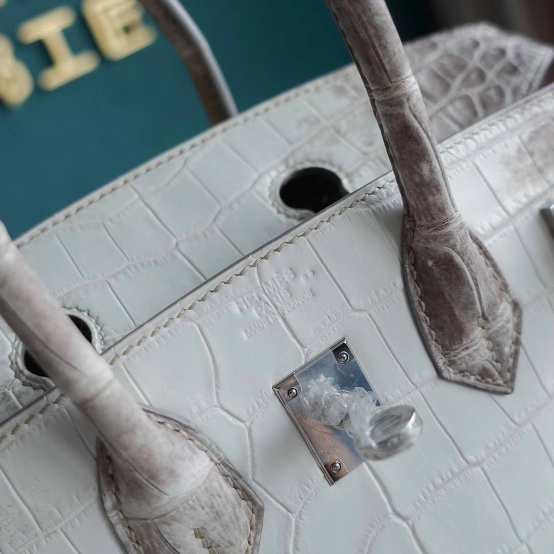 Hermes Birkin 25CM Himalaya 喜马拉雅 铂金包 纯手工定制