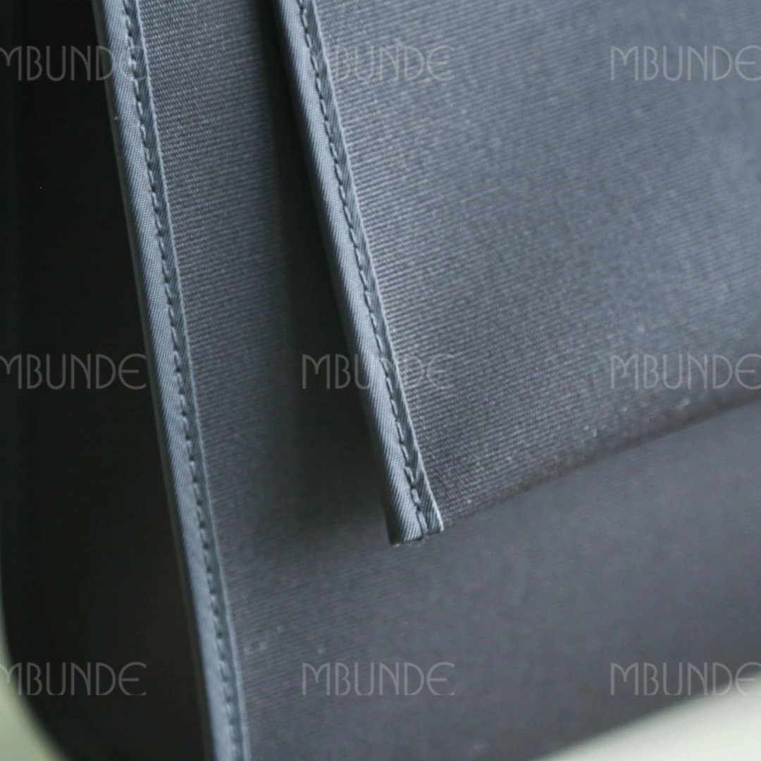 爱马仕包包 Herbag31 帆布包 黑色 超级炫酷的黑武士造型