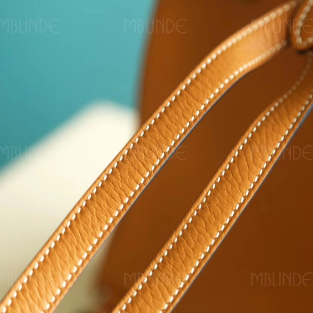 Hermes Kelly Ado 22cm 太妃金 TC皮 银扣 超好看的双肩包